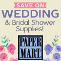 PaperMart_Save on Wedding and Bridal Shower Supplies!