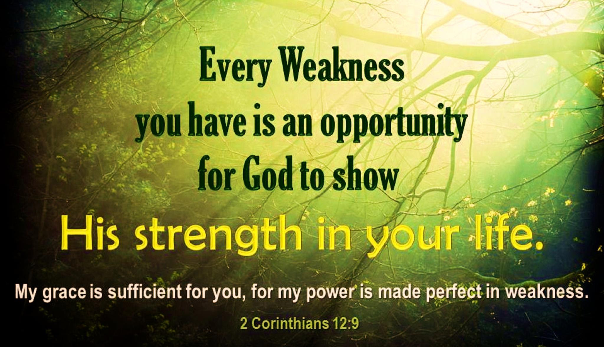Good Bible Quotes Quotes About Strength