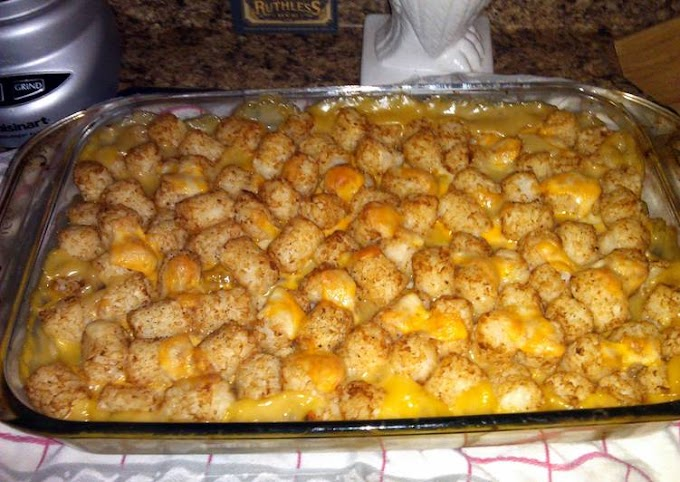 How to Prepare Perfect my tatter casserole