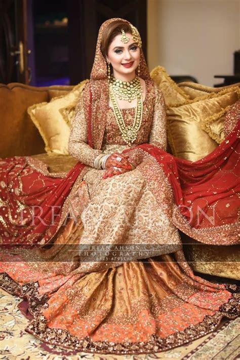 Wedding Bridal Sharara   Sariess   Wedding dresses