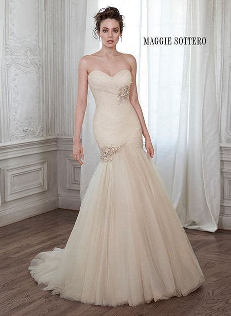 Maggie Sottero Lacey Marie   Blush Tone Wedding Gowns