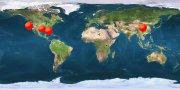 world map hits counter