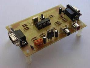 PIC16F84 Video Game Tetris và Pong Joist kiểm soát