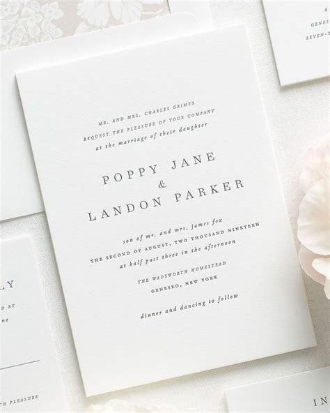 25  best ideas about Letterpress invitations on Pinterest