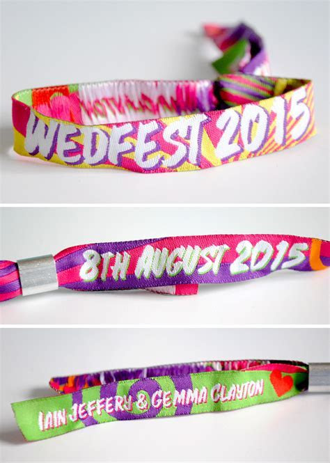 Ibiza Wristbands for Weddings and Events   WEDFEST