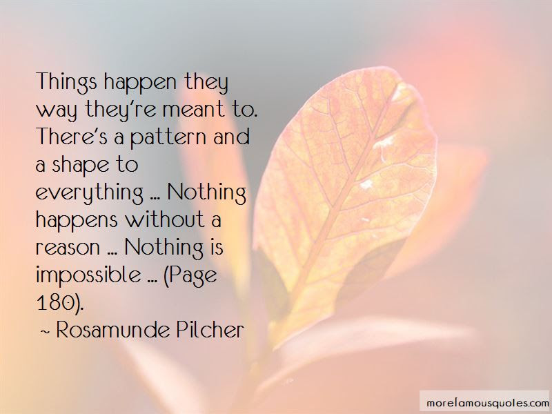 Nothing Happens Without A Reason Quotes Top 7 Quotes About Nothing