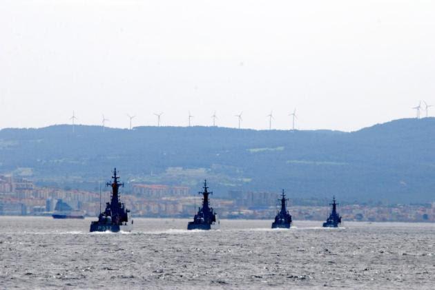 Μοίρα τουρκικών πυραυλακάτων κατευθύνεται στο Αιγαίο - Παρακολουθούνται από το ΠΝ