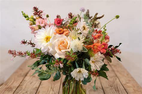 Hand tied Bridal Bouquet   Blooming Green   Seasonal