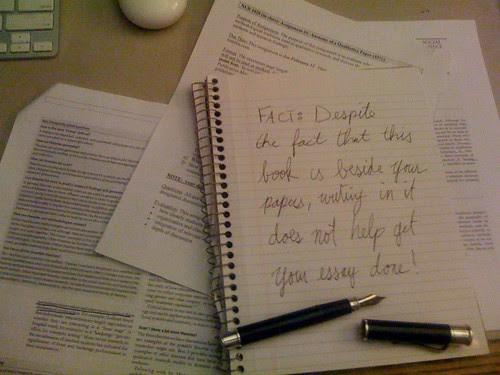[Pic] Useless notebook