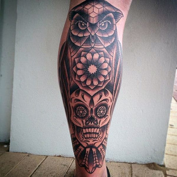 100 Sugar Skull Tattoo Designs For Men Cool Calavera Ink Ideas