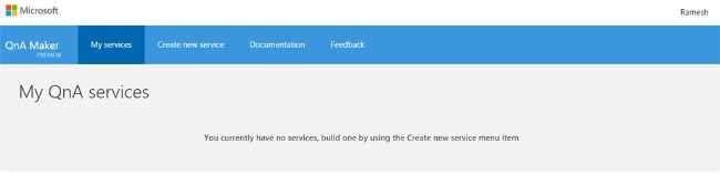 Develop Question And Answer Bot Service Using Microsoft ...
