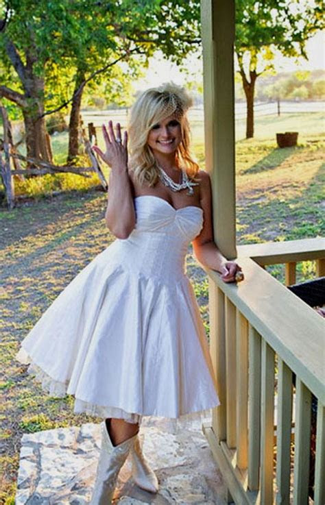 country wedding dress  cowgirl boots