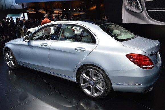 NAIAS colaterais classe 2015 Mercedes benz c Detroit Auto Show jan 2014