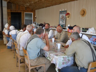 Ranchfest Lunch Break Around the Table