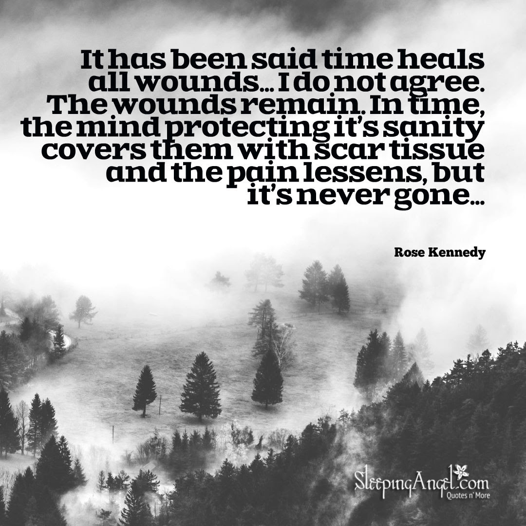 Rose Kennedy Quote Sleeping Angel