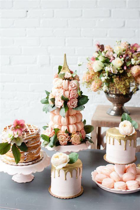 Parisian brunch wedding inspiration   100 Layer Cake