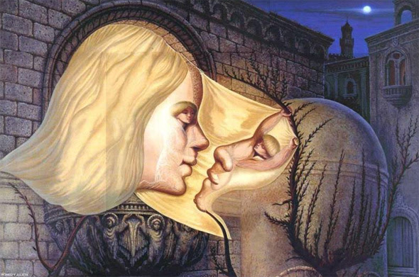 http://www.moillusions.com/wp-content/uploads/2011/06/Octavio-Ocampo-Romeo-and-Juliet.jpg