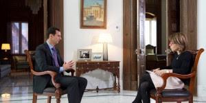 President al-Assad-Sunday Times-interview 1