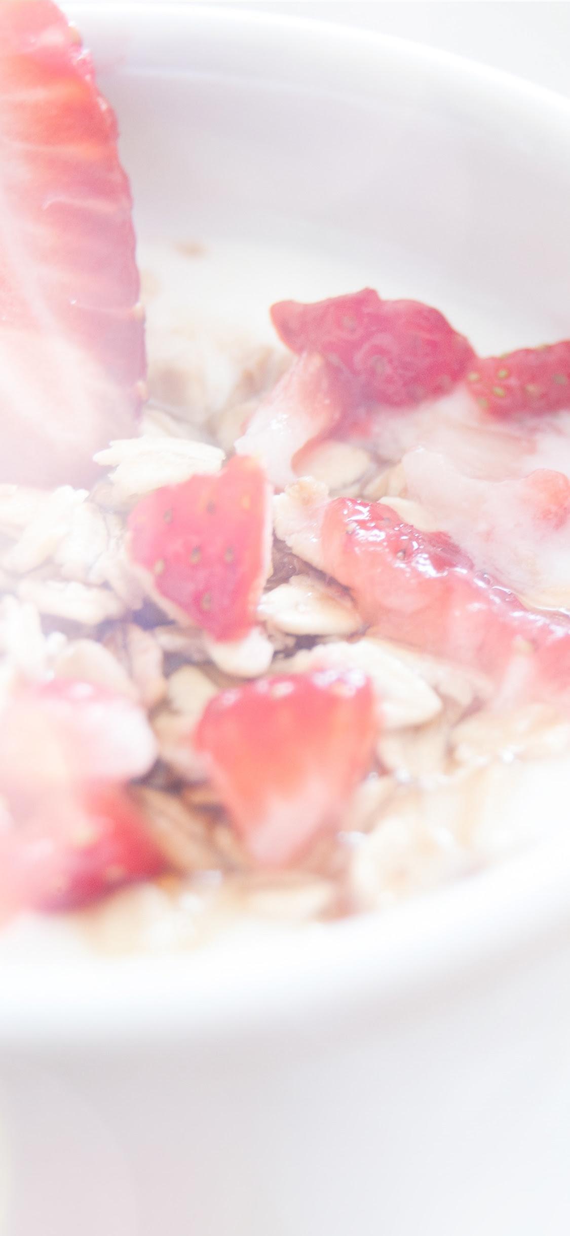 Iphonepapers Com Iphone Wallpaper Mq62 Strawberry Frost Milk