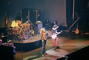 English: Led Zeppelin, January 1975, Chicago