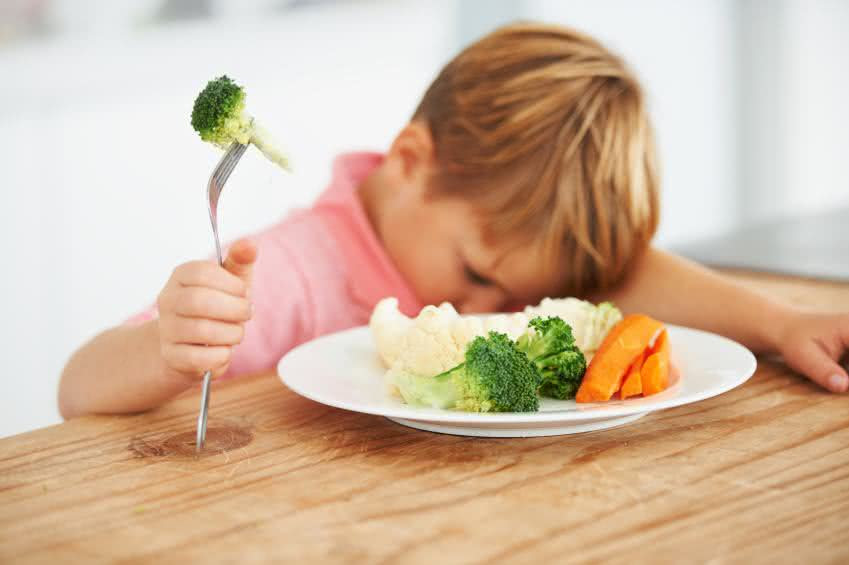 Fatores que podem contribuir para falta de apetite nas crianças
