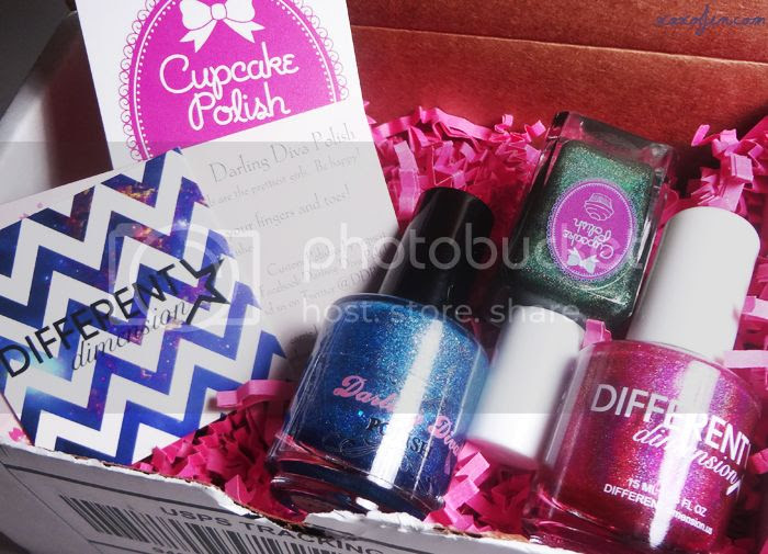 xoxoJen's box from Cupcake Polish: November Sweet Addictions