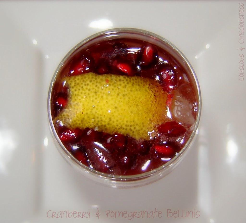 Cranberry & Pomegranate Bellinis 3