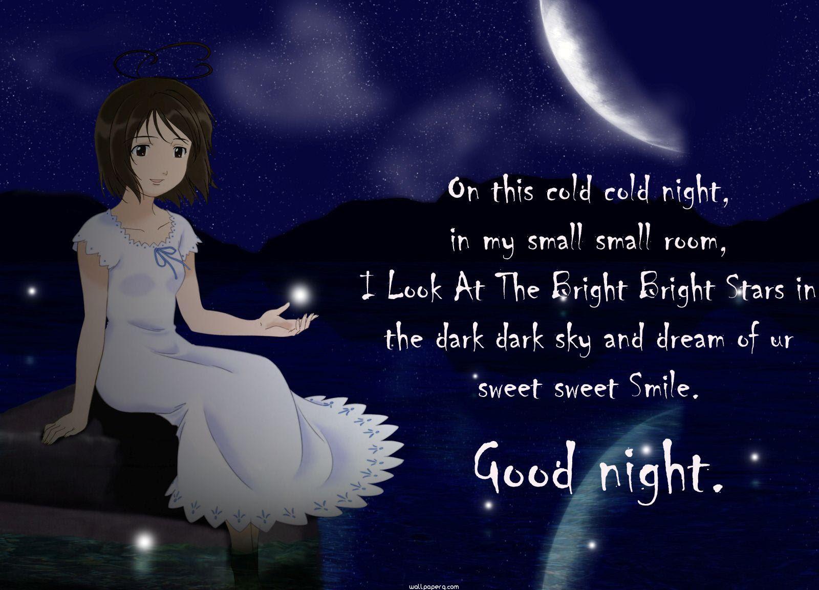 Good Night Wallpaper Free Wishing Wallpapers Mobile Version