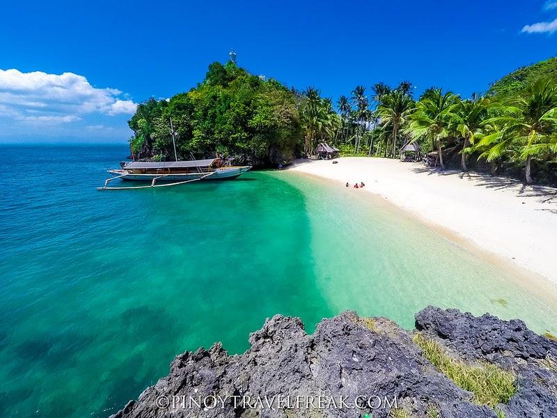 Pinoy Travel Freak Travel Guide Tatlong Pulo Beach Guimaras