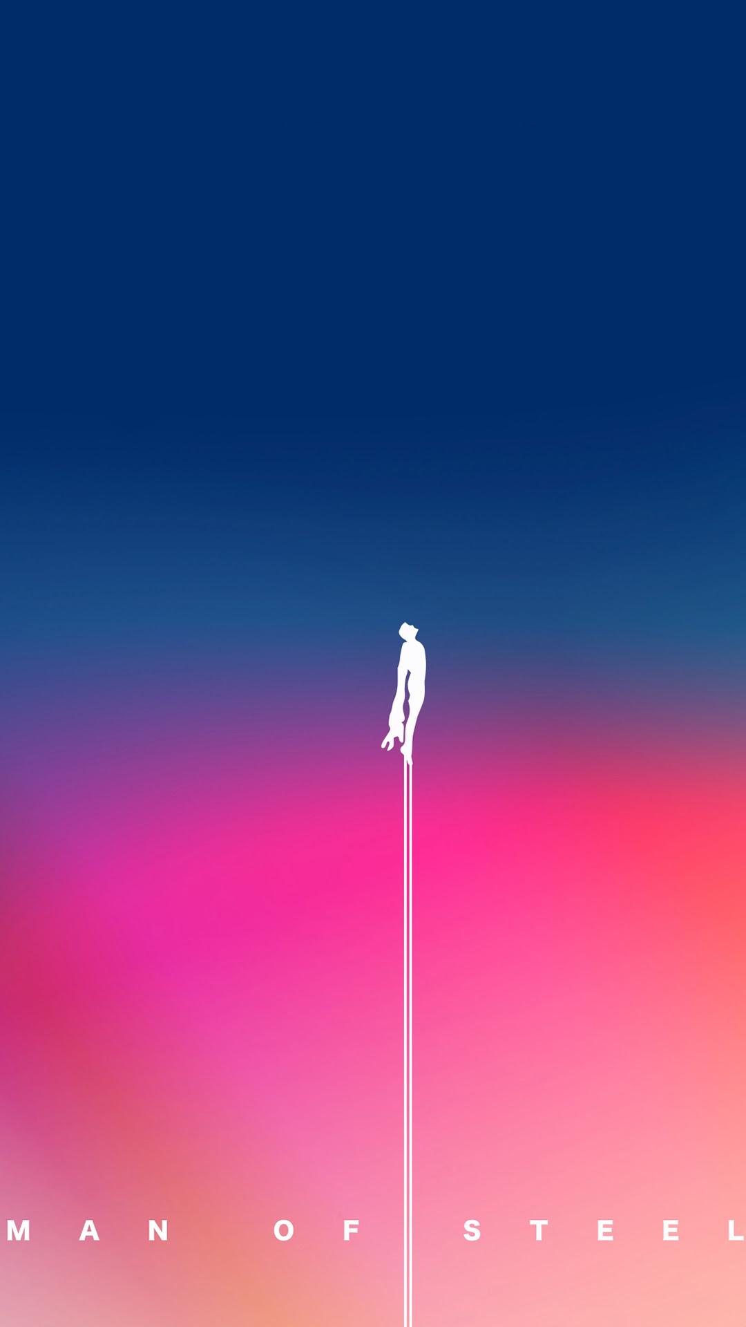 Man Of Steel Iphone Wallpaper Hd