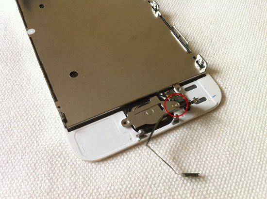 iPhone 5S disassembly stage 13