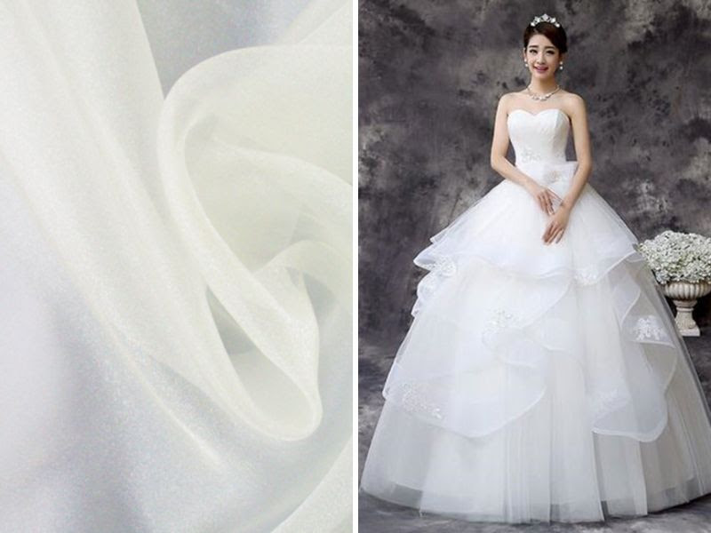 List Of The Trenst Wedding Dress Material And Fabrics