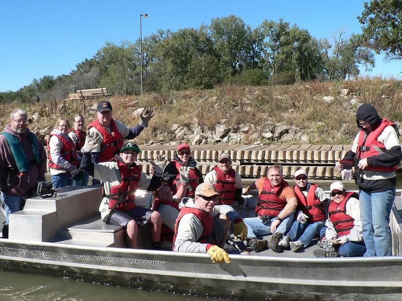 Omaha-Council Bluffs Missouri River Clean-up 9-22-12