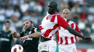 Ολυμπιακός Βόλου-ΠΑΟΚ 0-2 (Ημίχρονο)