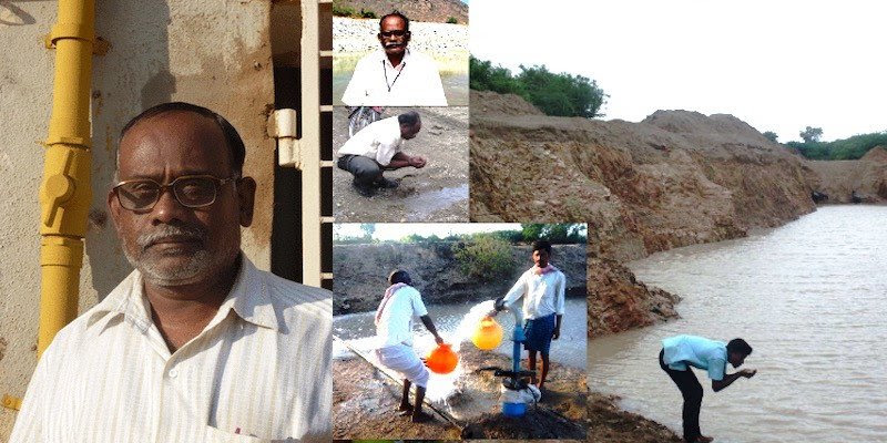 India's 'water doctor', has turned 84 acres of barren land into a water bowl