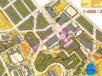 Map from WC-2 NORT Sprint Semifinal