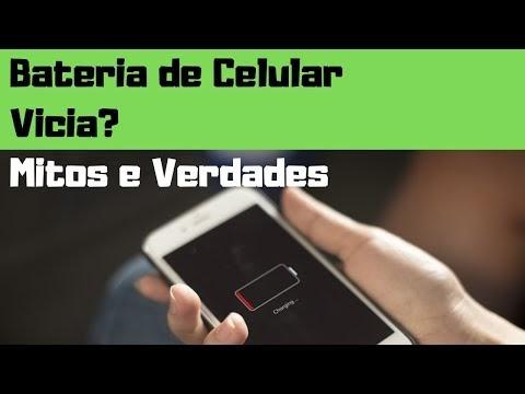 Bateria de Celular Vicia? Mitos e verdades