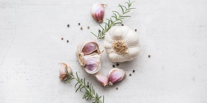 What are the health benefits of organic garlic?