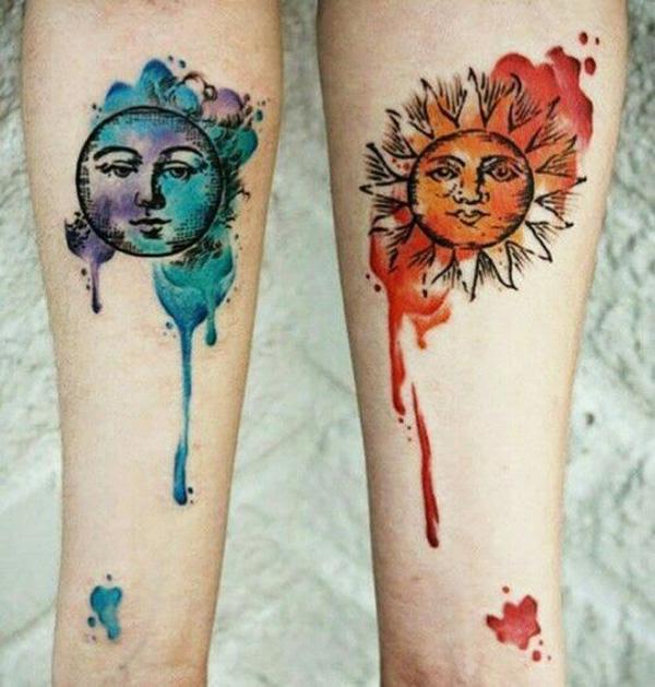 30 Couple Tattoo Ideas Art And Design