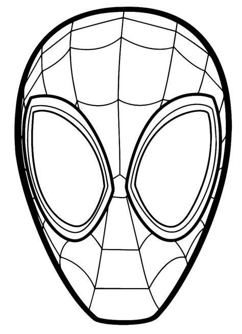 Ausmalbilder Spiderman - Gratis zum Drucken