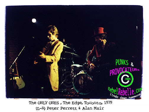 THE ONLY ONES  Peter Perrett Alan Mair