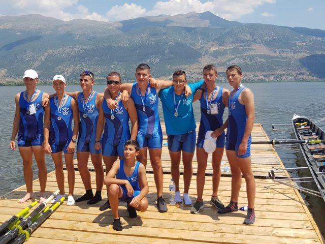 Ήγουμενίτσα: 4 μετάλλια για τον ΔΝΟ Ηγουμενίτσας στο 85o Πανελλήνιο Πρωτάθλημα Κωπηλασίας