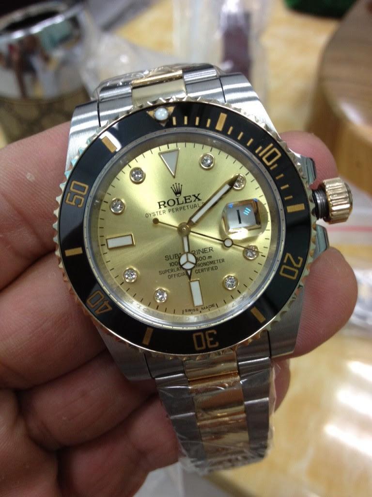 Rolex Submariner 116613 LN Gold Dial Replica