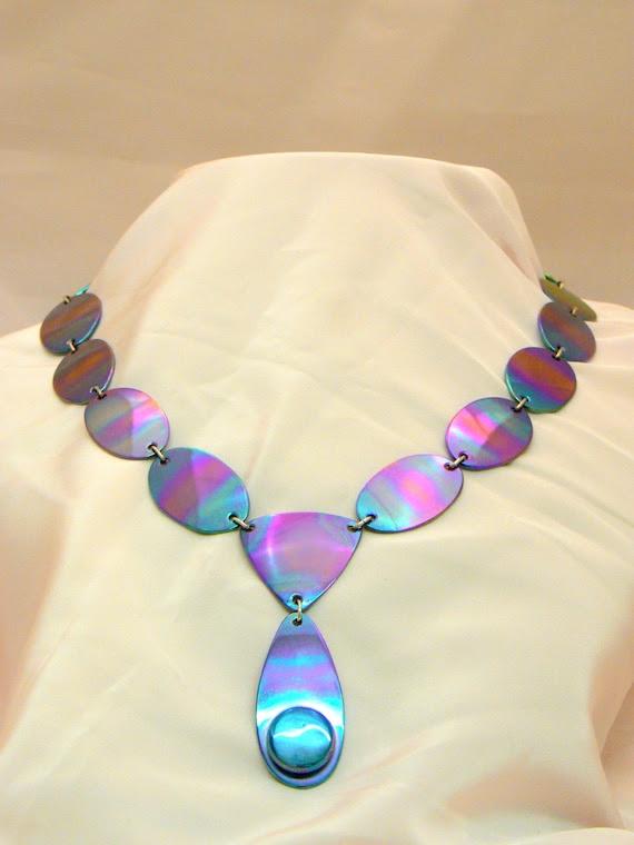 Collar, Neckpiece, Titanium, Fine Jewellery