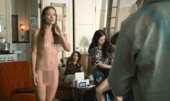 Olivia Wilde strips naked in HBO series Vinyl