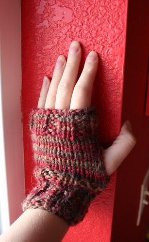Pay it Forward fingerless gloves