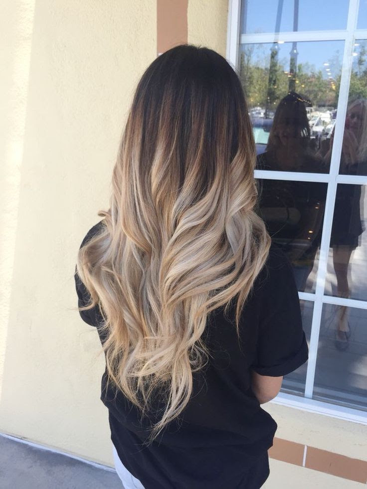 60 Trendy Ombre Hairstyles 2018  Brunette, Blue, Red, Purple, Green, Blonde