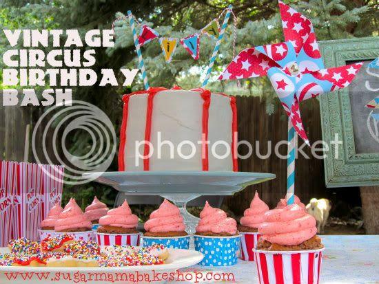 Circus Birthday: www.sugarmamabakeshop.com