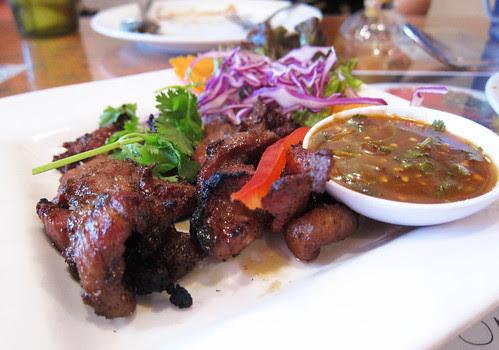 Dinner at Jitlada
