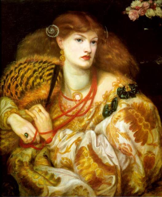 Dante Gabriel Rossetti - Monna Vanna